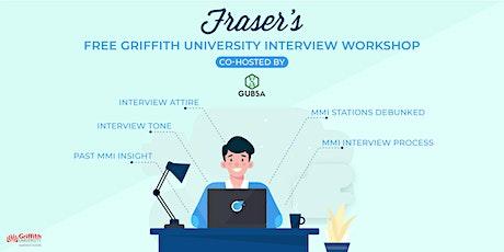 Free Griffith University Interview Workshop | Online tickets