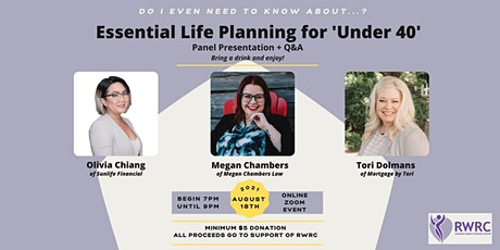 """Do I even need to know about...? Essential Life Planning for """"Under 40"""" tickets"""