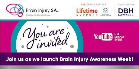 Brain Injury Awareness Week Launch Event 2021: Watch Live Stream tickets