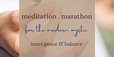 Meditation marathon tickets