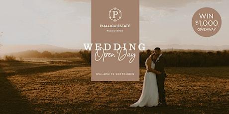 PIALLIGO ESTATE WEDDINGS - Wedding  Open Day tickets