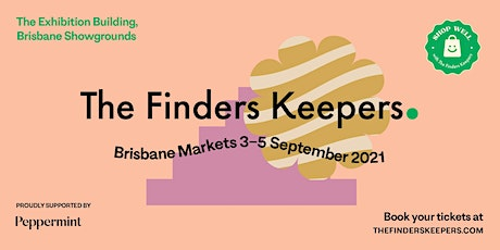 The Finders Keepers Brisbane Market tickets
