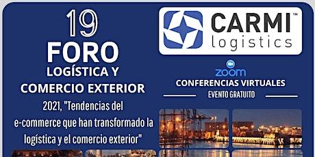 """""""19 FORO DE LOGISTICA 2021"""" Evento Sin Costo entradas"""