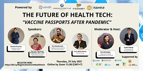 The Future of #HealthTech Industry tickets