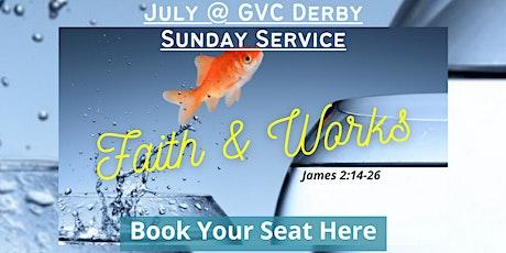 GVC Derby Sunday Service | 25th July 2021 | 10:00am-12:30pm tickets