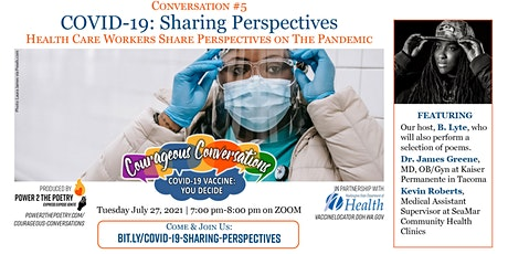 COVID-19: Sharing Perspectives tickets