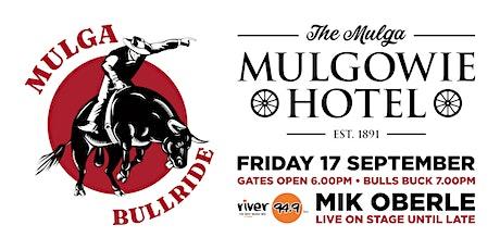 MULGA BULL RIDE September 2021 tickets