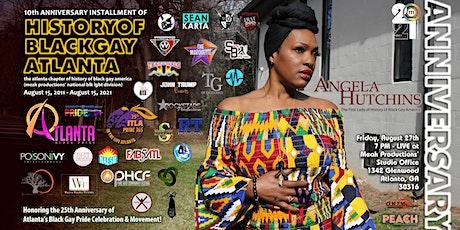 History of Black Gay Atlanta Pride Press Conference 10th Anniversary tickets