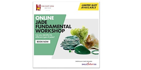 Online  Jade Fundamental workshop (27, 28 Sept, 4, 5 October 2021) Tickets