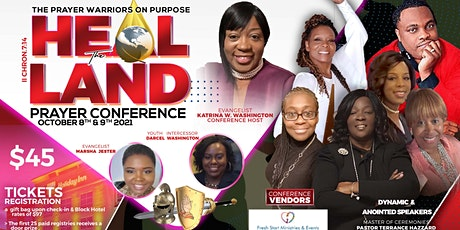 """""""PWOP"""" Heal The Land Prayer Conference II Chronicles 7:14 tickets"""
