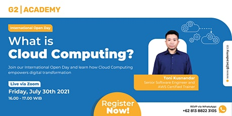 What Is Cloud Computing? tickets