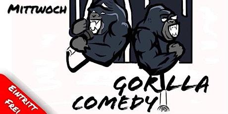 GORILLA COMEDY Stand up im Mad Monkey Room (2G Veranstaltung) Tickets