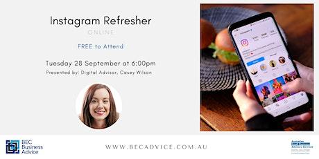 Instagram Refresher tickets