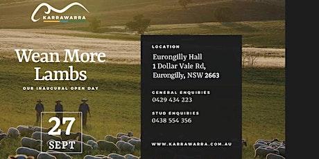 Karrawarra Open Day - Wean More Lambs tickets