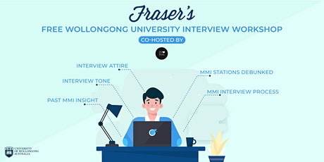 Free University of Wollongong Interview Workshop | Online tickets