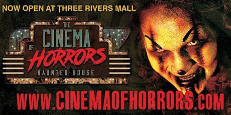 Cinema of Horrors Haunted House – Three Rivers Mall tickets