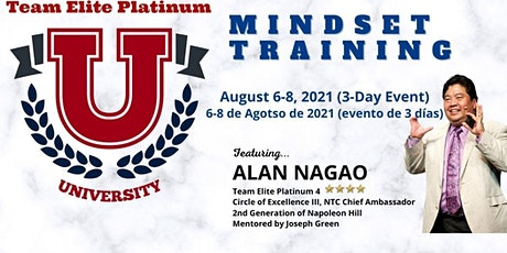Online TEPU Mindset Training w/ Alan Nagao, 2nd Generation To Napoleon Hill tickets