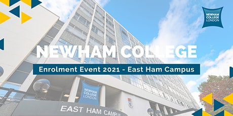 Newham College Enrolment Event (East Ham Campus) - Explore, Apply and Enrol tickets
