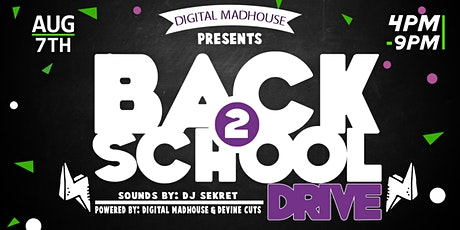 Back 2 School Drive tickets