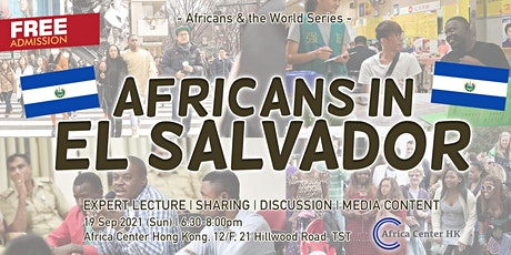 Africans & the World | Africans in El Salvador tickets