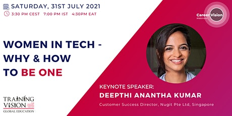 Women in Tech: Why and How to be one? tickets
