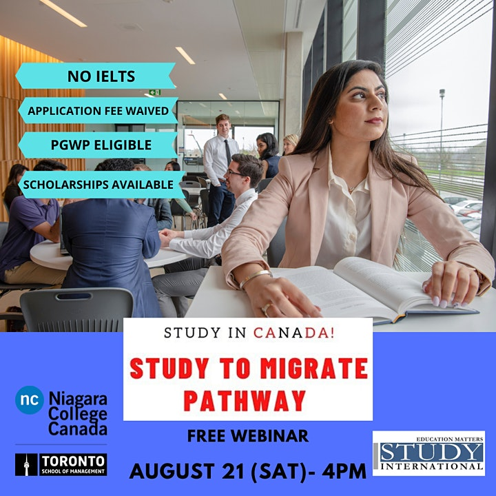 Study to Immigrate Pathway with Niagara College-Toronto! image