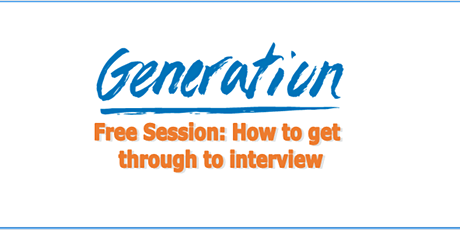 Free Employability Session - How to get through to interview tickets