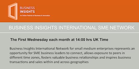 Business Insights International Network 03 November 2021 tickets