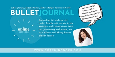 Bulletjournaling mit starker Coachingkomponente · wir planen für November