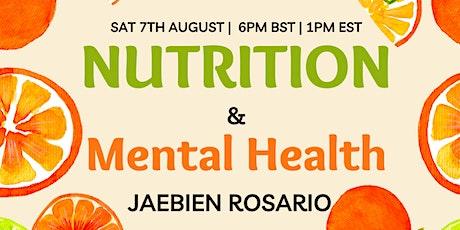Nutrition & Mental Health tickets