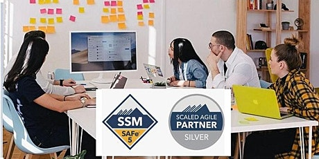 SAFe Scrum Master  (SSM 5.0) Certification Virtual Training  - Nov- 06-07 tickets