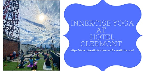 Innercise Yoga on the Rooftop tickets