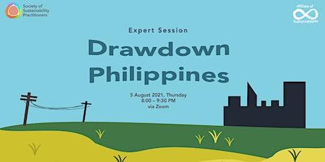SSP Expert Session: Drawdown Philippines tickets