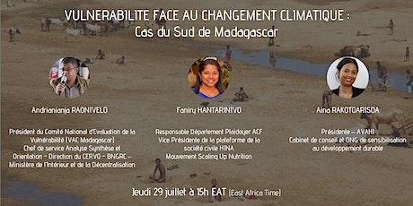 VULNERABILITE FACE AU CHANGEMENT CLIMATIQUE :  CAS DU SUD DE MADAGASCAR billets