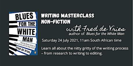 Non-fiction Writing Masterclass tickets