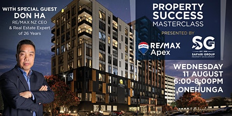 Property Success Masterclass with RE/MAX Apex & Don Ha tickets