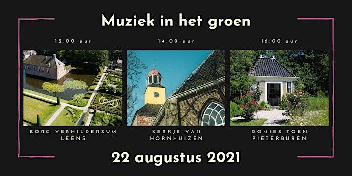 Afbeelding van Muziek in het groen - bij kerken en borgen