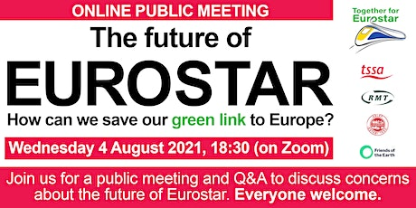 The future of Eurostar: How can we save our green link to Europe? tickets