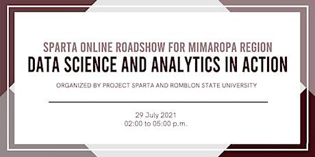 SPARTA Online Roadshow for MIMAROPA Region:  Data Science and Analytics in tickets