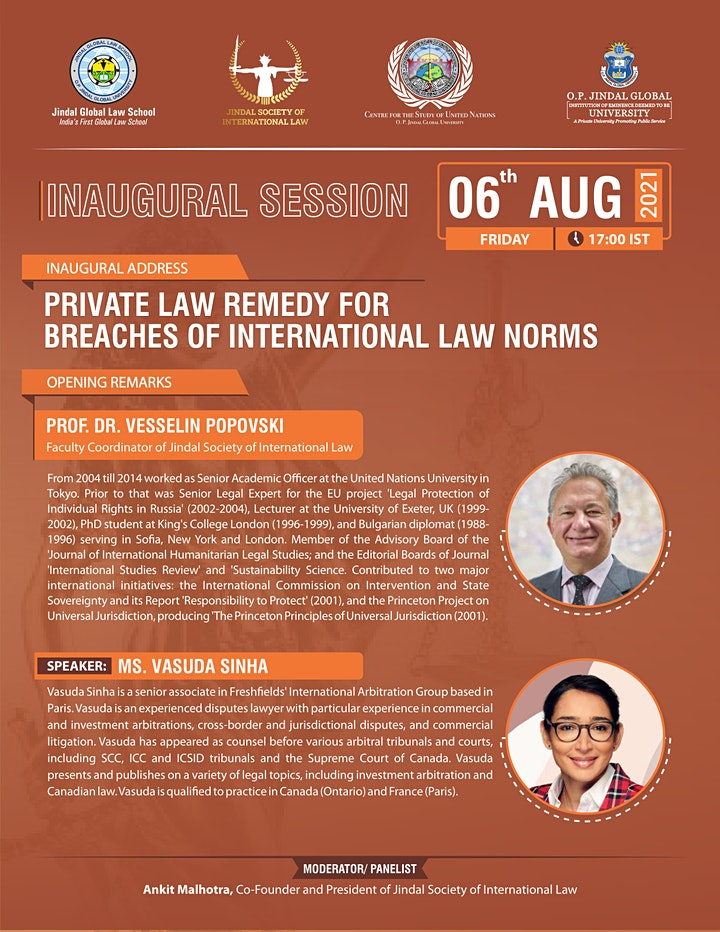 Private Law Remedy for Breaches of International Law Norms image