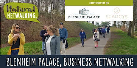 Natural Netwalking in Blenheim Palace, Oxon. Wed 18th Aug 9.30am-11.30am tickets