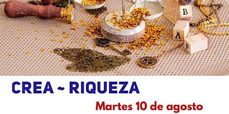 CREA ~ RIQUEZA Curso online en Barcelona @meditandoporelmundo tickets