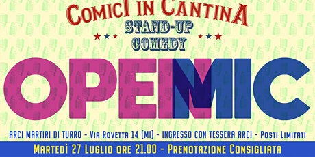 Comici in Cantina - Open mic #14 biglietti