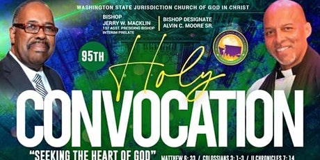 Washington State Jurisdiction COGIC 95th Holy Convocation tickets