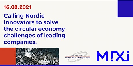Nordic Solutions to Circular Economy Challenges: Do you have what it takes? biglietti