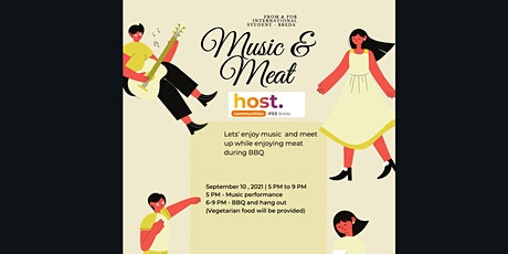 'Music and Meat' International Student Community Breda tickets