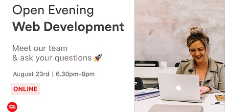 Open Evening: Le Wagon's Web Development Bootcamp ingressos