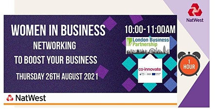 Women in Business Networking for London and The Home Counties tickets