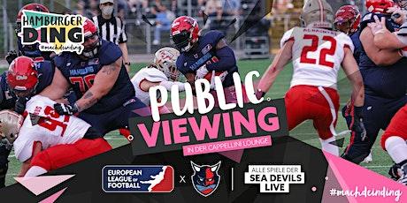 Public Viewing | Hamburg Sea Devils vs. Panthers Wroclaw | ELF tickets