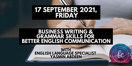 1-Day Business Writing & Grammar Skills for Better English Communication tickets